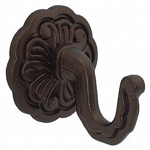 """Комплект крючков для штор """"Классика"""", дизайн 109.655, шоколад"""