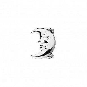 """Держатель-клипса для штор """"Месяц"""", дизайн 114.581, хром"""