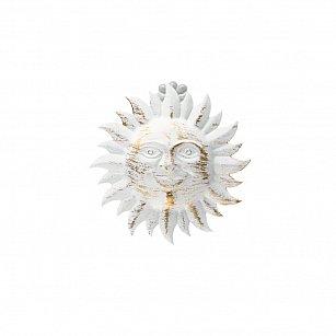 """Держатель-клипса для штор """"Улыбка солнца"""", дизайн 115.601, белое золото ампир"""