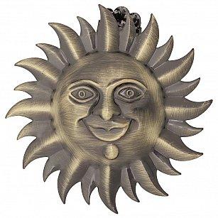 """Держатель-клипса для штор """"Улыбка солнца"""", дизайн 115.650, золото антик"""