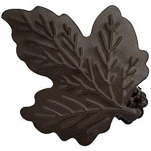 """Держатель-клипса для штор """"Листочек"""", дизайн 117.655, шоколад"""