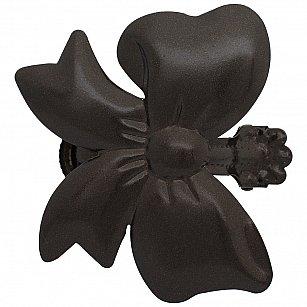 """Держатель-клипса для штор """"Бант"""", дизайн 125.655, шоколад"""