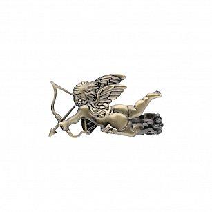 """Держатель-клипса для штор """"Амур"""", дизайн 126.650, золото антик"""