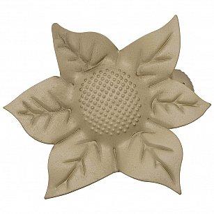 """Держатель-клипса для штор """"Цветок"""", дизайн 127.582, золото матовое"""