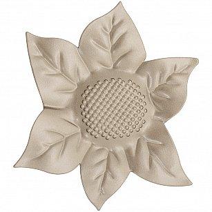 """Держатель-клипса для штор """"Цветок"""", дизайн 127.599, бронза"""