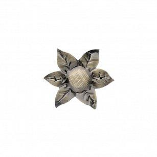"""Держатель-клипса для штор """"Цветок"""", дизайн 127.650, золото антик"""