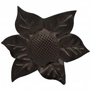 """Держатель-клипса для штор """"Цветок"""", дизайн 127.655, шоколад"""