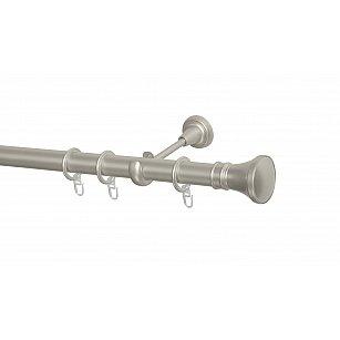 Карниз металлический Arttex с наконечником №251, 1-рядный, сталь, ø 28 мм