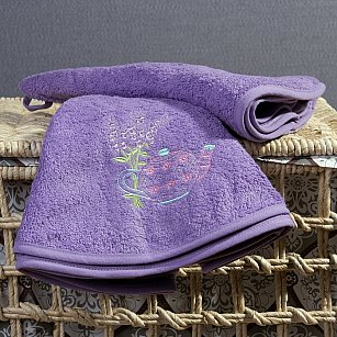 Полотенце кухонное Arya Lavender, лиловый, 70*70 см