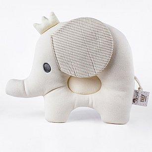 Подушка декоративная детская Arya Elephant, бежевый, 25*31 см