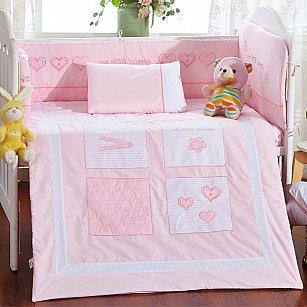 КПБ детское Arya Dreams (Новорожденный), розовый