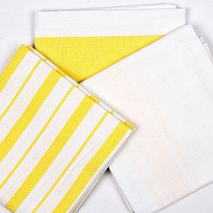 Набор кухонных полотенец Arya Gabi, желтый, 50*70 см - 3 шт