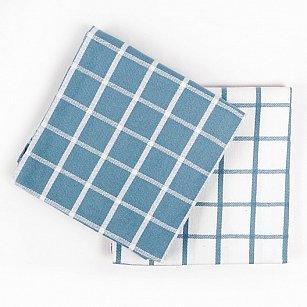 Набор кухонных полотенец Arya Kitchen Line Chino, голубой, 50*70 см - 2 шт