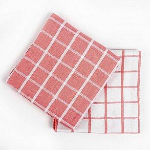 Набор кухонных полотенец Arya Kitchen Line Chino, розовый, 50*70 см - 2 шт