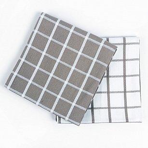 Набор кухонных полотенец Arya Kitchen Line Chino, серый, 50*70 см - 2 шт