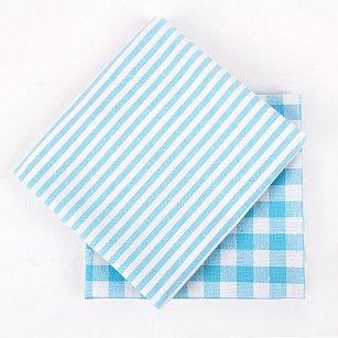 Набор кухонных полотенец Arya Kitchen Line Kusumi, голубой, 45*70 см - 2 шт