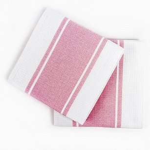 Набор кухонных полотенец Arya Kitchen Line Pena, розовый, 50*70 см - 2 шт