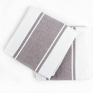 Набор кухонных полотенец Arya Kitchen Line Pena, серый, 50*70 см - 2 шт