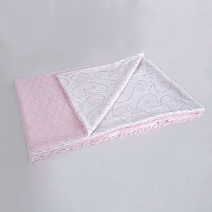Плед детский Arya Kumi, розовый, 75*100 см