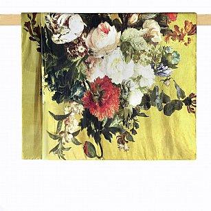 Плед печатный Arya Digital Garden, желтый, 130*160 см