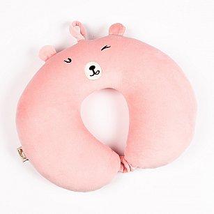 Подушка для путешествий Arya Wink, розовый, 32*32 см