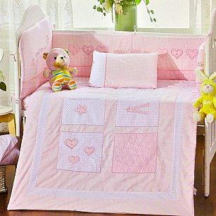 Покрывало детское Arya Dreams, розовый, 110*130 см
