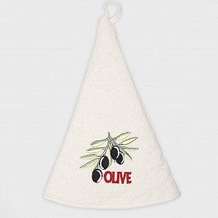 Кухонное полотенце Arya Olivia, экрю, 70*70 см
