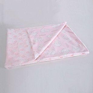 Плед детский Arya Tinni, розовый, 75*100 см
