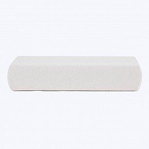 Простынь хлопковая на резинке Arya, экрю, 160*200*20 см