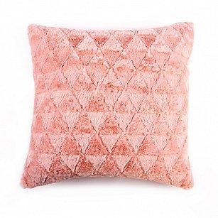 Наволочка декоративная Arya Pv Brush, розовый, 45*45 см
