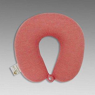 Подушка дорожная Arya Alva, кирпичный, 30*30 см