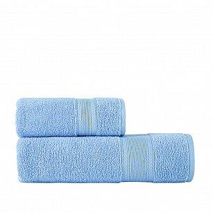 Полотенце однотонное Arya Solo Soft, голубой