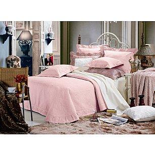 Покрывало Танго Сатин Сlassic, розовый, 240*260 см-A