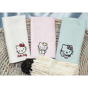 Детский набор полотенец Camomilla Bamboo, 30*50 см - 3 шт, белый, розовый, голубой