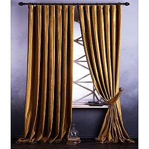 Комплект штор Оксфорд, золотой