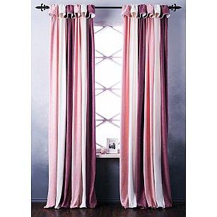 Комплект штор Спринг, розовый