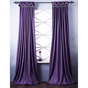 Комплект штор Спринг, фиолетовый