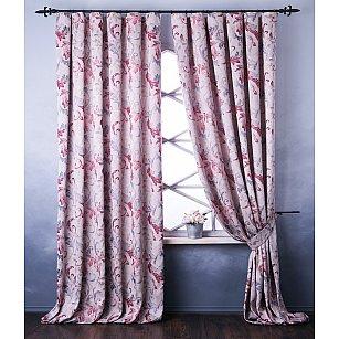 Комплект штор Мона, розовый