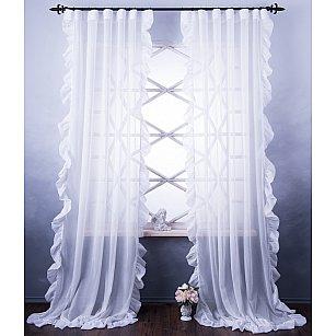Комплект штор Бэтси, белый