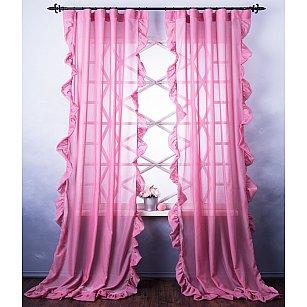 Комплект штор Бэтси, розовый