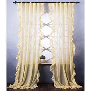 Комплект штор Бэтси, желтый