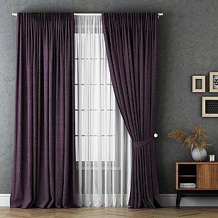 Комплект штор Маркус, фиолетовый