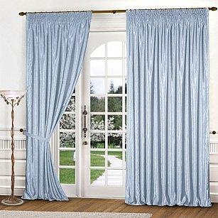 Комплект штор К301-7, голубой