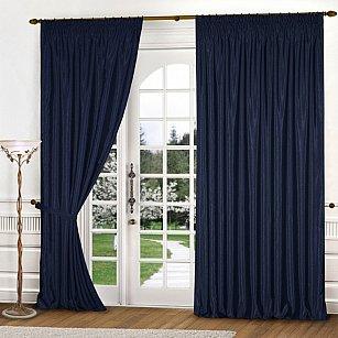 Комплект штор К301-8, синий