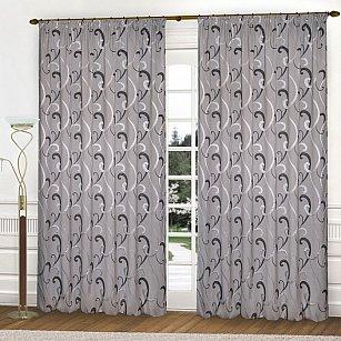 Комплект штор К331-5, серый