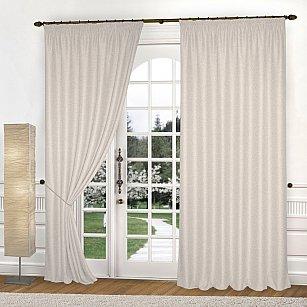 Комплект штор К335-1, кремовый