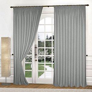 Комплект штор К335-10, серебро
