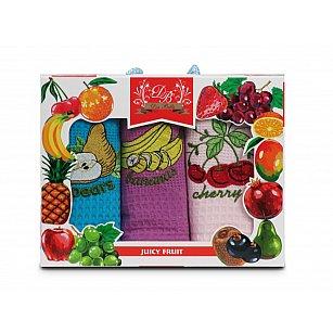 Комплект кухонных полотенец Nilteks Dia Bella Italiano дизайн 04, 50*70 см - 3 шт