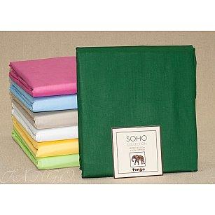 Простынь SOHO Collection Хлопок, темно-зеленый, 240*260 см