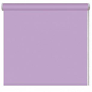 Рулонная штора ролло однотонная, лиловый